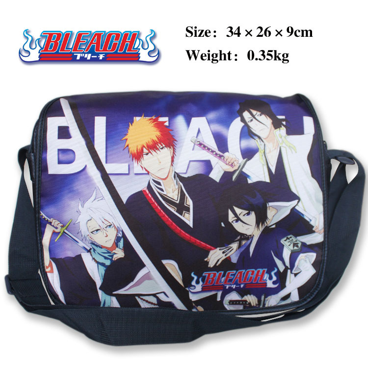 2016 Anime Bleach Death Note Messenger Bag School Shoulder Bag For Students Kids Children Boys Gilrs Teenager Canvas Bags(China (Mainland))