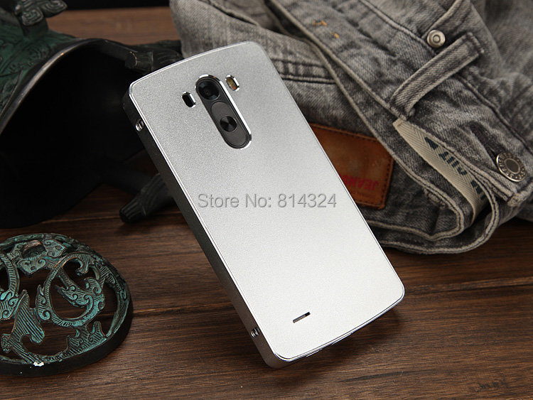 LG G3 Screw Full Metal Aluminum Hard Back Cover Case , Protective D830 D850 D855 - Shenzhen H&M Technology Co., Limited store