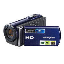 portable professional video camcorder 1080P full HD 16x digital zoom with 3inch rotation screen(China (Mainland))