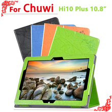 Cover Case Chuwi Hi10 Plus 10.8 inch Tablet PC Luxury Floral Printed Leather Smart + free 2 gifts - Let's go Accessories Supermarket store