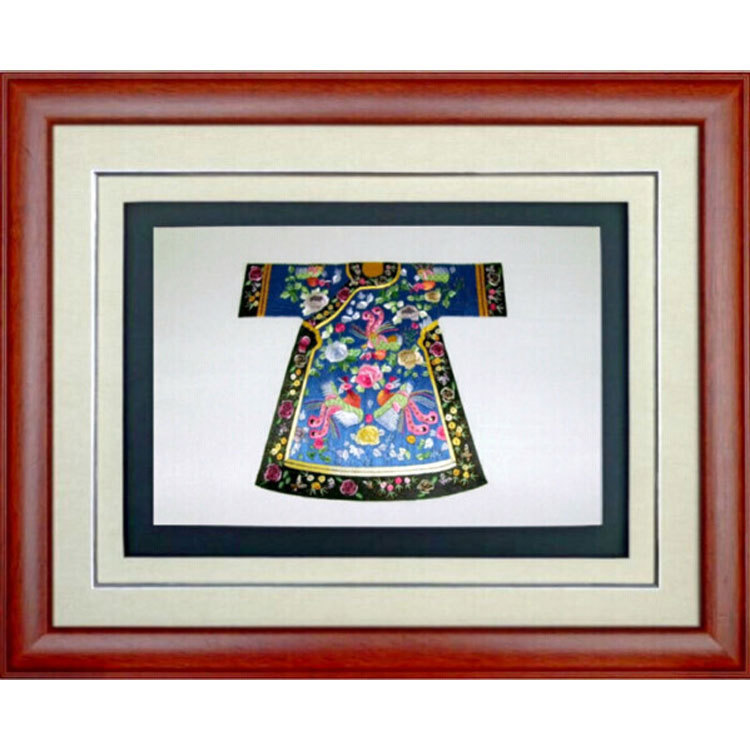 [Service] supply enthusiasm Phoenix robe embroidery hand embroidery gifts business gifts Chinese characteristics gifts(China (Mainland))