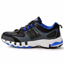 2016 New Men's Fashion Sneakers Red And Black Weaving Breathable Running Boots Outdoor Comfortable Running Shoes