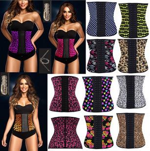 hot shapers body shapers waist trainer waist training vest latex waist cincher latex waist trainer steel boned corsets women(China (Mainland))