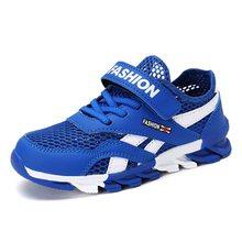 Mesh Ademend Kids Sneakers Voor Jongens Schoenen Kid Schoenen Kinderen Jongens Sport School Loopschoenen 28 30 31 32 33 34 35 36 37 39(China)