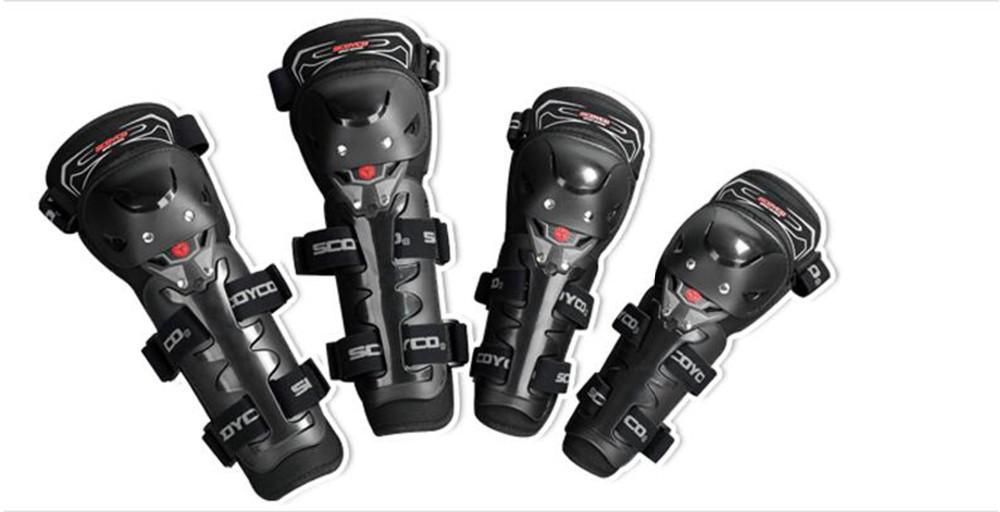 (4Pcs/Set) Upgrade Motorcycle Knee Protector Cycling Elbow Guard Motor Protective Gear Scoyco K11H11-2 Knee&Elbow Protectors(China (Mainland))