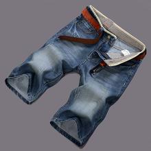 New 2016 Summer Style Fashion Men Jeans Shorts Famous Brand Short Men Jeans Cotton Denim Shorts Jeans Men Bermuda Masculina