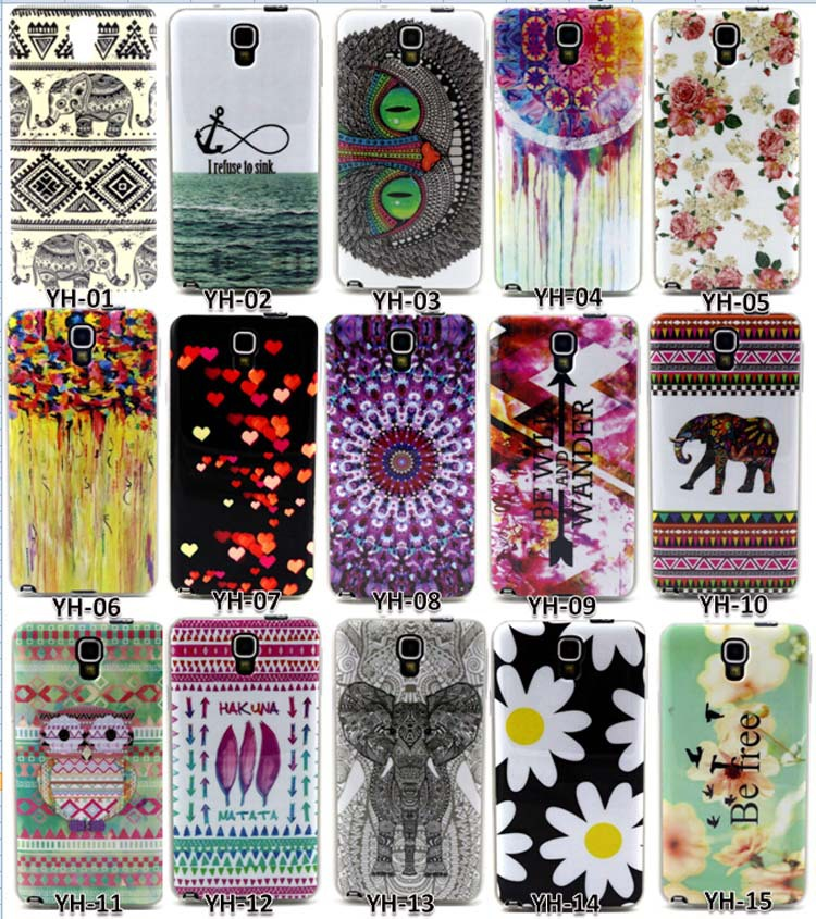 Cute Elephant Balloon Pattern Design TPU Soft Case Samsung GALAXY Note 3 Lite neo N7505 N7506V N7508v n750 Back Cover Cases - IRS Trading Co.,Ltd store