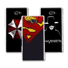 Buy 2016 New Arrival Dark Man Case Sony Xperia M2 S50h Dual D2302 D2305 D2303 D2306 Fashion Hard PC SONY M2 Case+Free Pen for $1.48 in AliExpress store