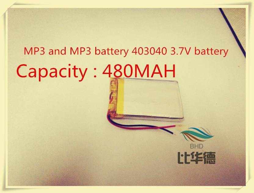 IRiver U10 battery iRiver iRiver U10 MP3 and MP3 battery 403040 3.7V battery(China (Mainland))