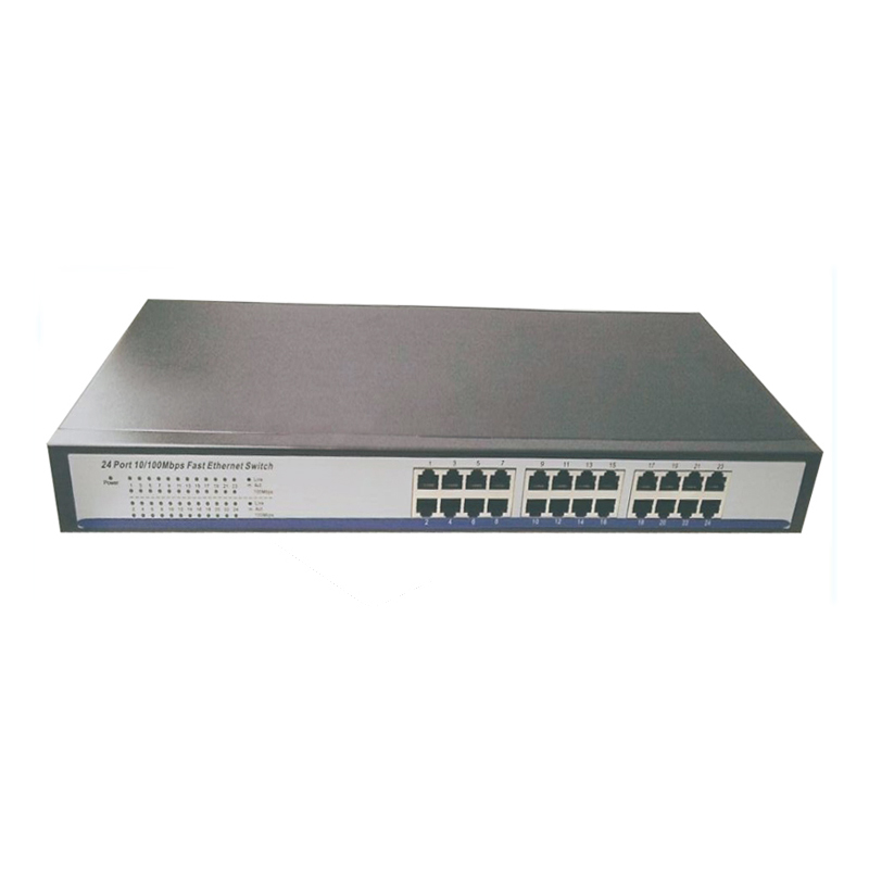 """shenzhen manufacturer direct sell 24 ports 10/100M Network ethernet Switch with 19"""" Steel Case network switches 24 port(China (Mainland))"""
