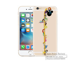 Cartoon Snow White Alice mermaid Soft Clear TPU Case iPhone 4 4S SE 5 5S 5C 6 6S 6Plus Plus Ariel little Mermaid Cases - Shenzhen RuiCai Group CO.,LTD store