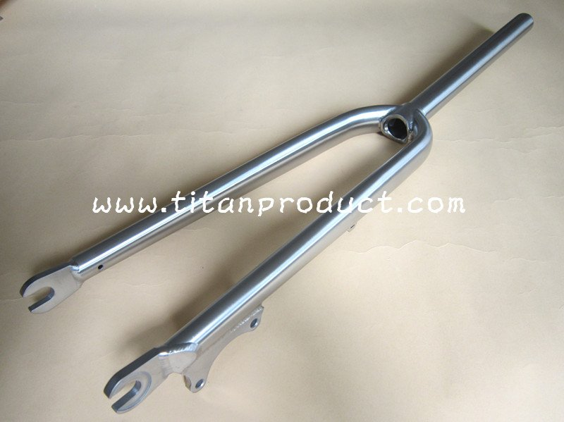 Titanium Cyclocross Fork with Disc Brake Only(China (Mainland))