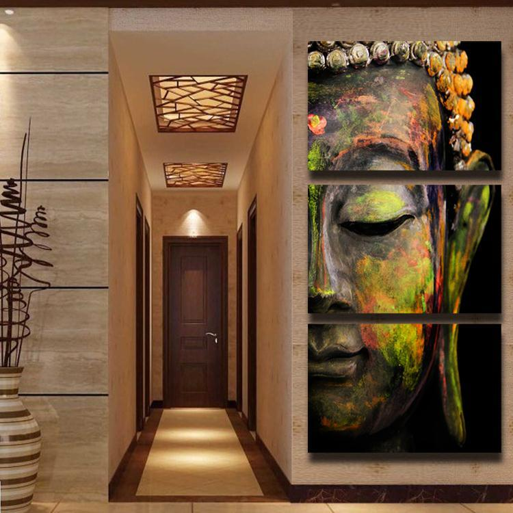 Free-shipping-buddha-oil-painting-wall-art-paintings-picture-paiting-canvas-paints-home-decor-Giveaways-wall