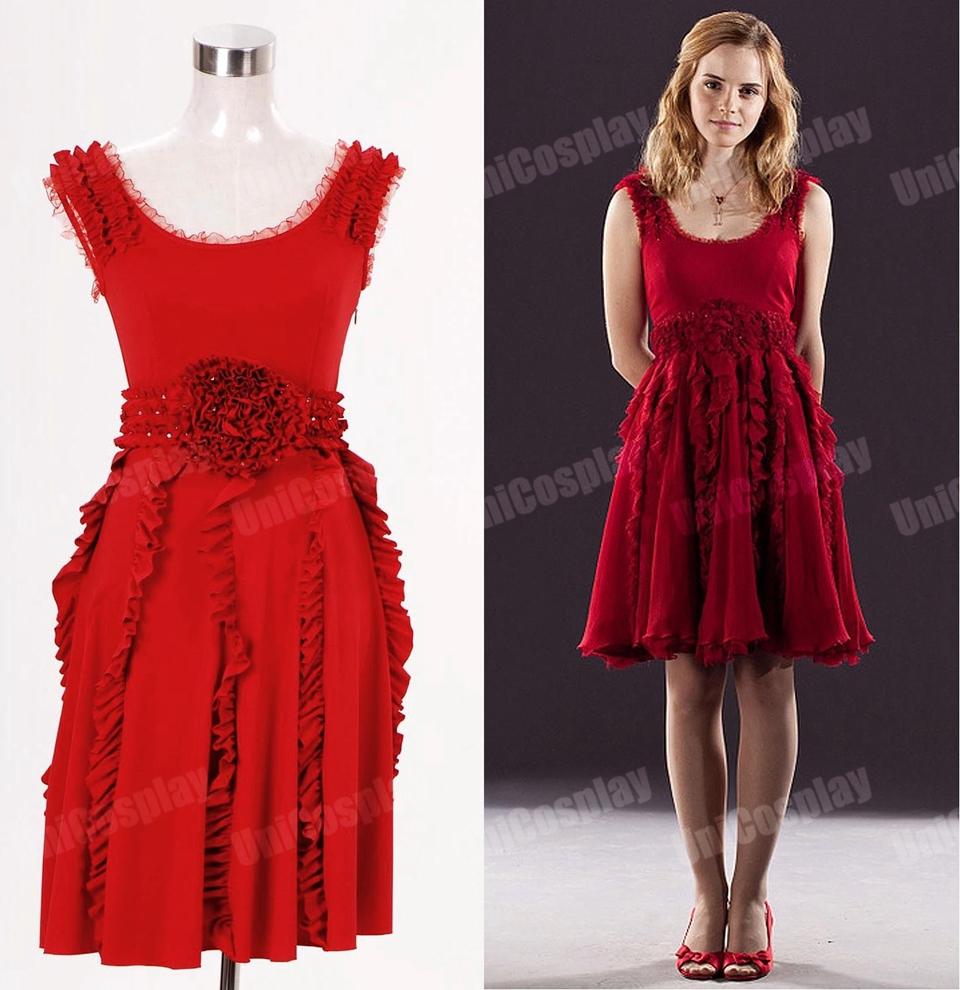 Robe la mode robe rouge hermione granger for Robes de mariage cyber lundi
