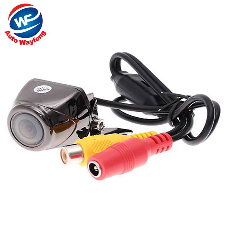 Factory Selling Car Rearview Camera 170 Degree Angle Night Color LED Sensor Car Rear Reverse View Parking Camera Free Shipping(China (Mainland))