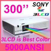 led projector 3d