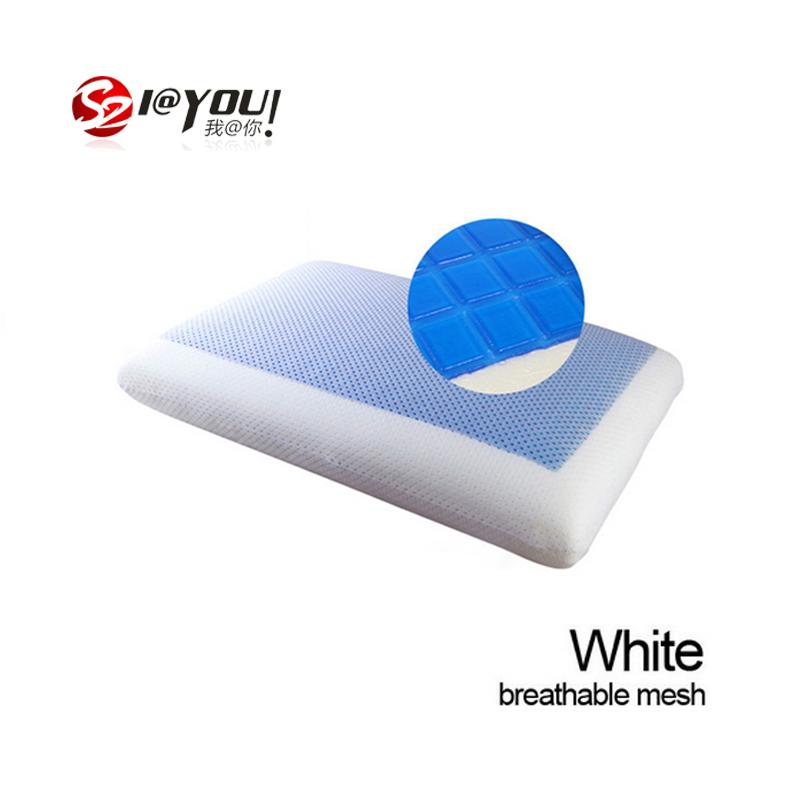 zero pressure massage pillow Summer cool gel memory foam pillow Bedding Set Memory Foam 60x40x12cm Local Delivery In Russia SZ03(China (Mainland))