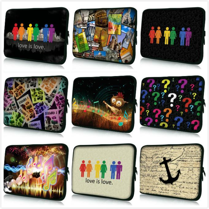 2014 New Computer Accessories Universal Skin Cover Neoprene Laptop Bag Cases Sleeve Pouch Notebook Smart 12 13 14 15 17 inch - Leon Young store