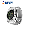 2016 bluetooth Smart Watch Sync Notifier support Sim Card sport smartwatch For apple iphone Android Phone