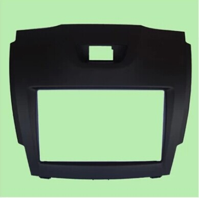 Isuzu car D MAX 2 din 2012 special modified box audio DVD navigation modified panel with joy(China (Mainland))