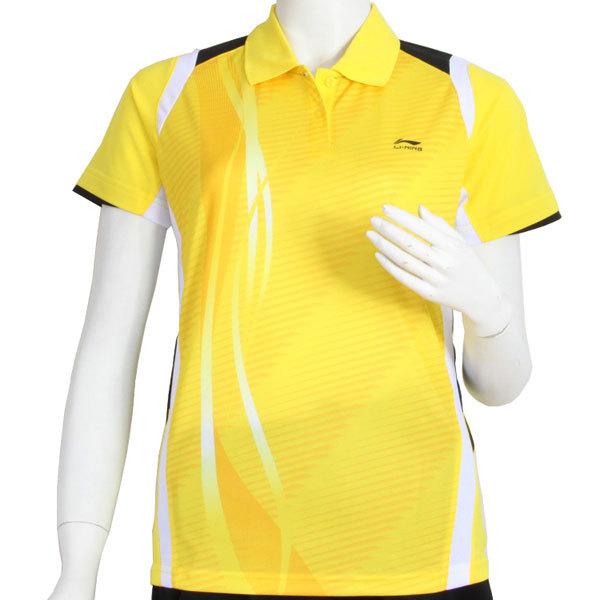 women badminton T-shirt:December 2012 tournament T-shirt,ladies Badminton Jersey,li-ning AAYH232(China (Mainland))