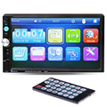 2 Din Car Video Player 7 HD Touch Screen Bluetooth Phone Stereo Radio FM MP3 MP4