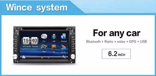 Double 2 Din in Dash Car DVD Player For universal Android 5.1.1 GPS Navigation Bluetooth 4G 3G WIFI Quad Core Auto Radio Stereo