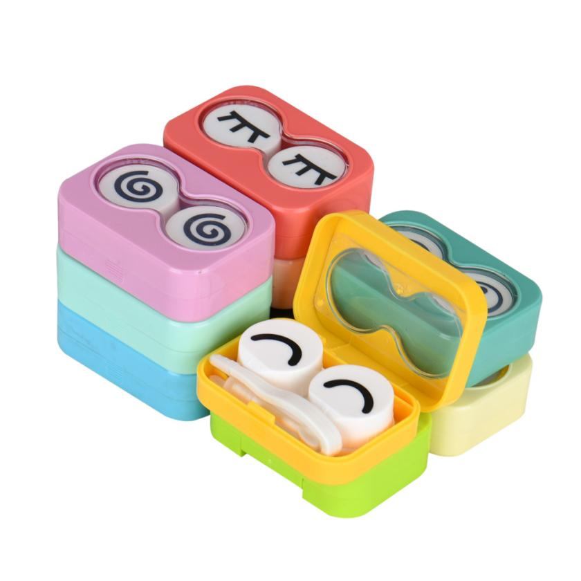Beauty Girl Hot New Mini Travel Kits Case Pocket Storage Holder Container Shell for Contact Lens Nov 2