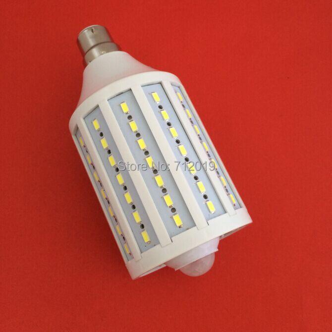 98 LEDs 220V Cold White/Warm White Led Light Auto Motion Sensor Corn Lamp Bulb Energy Saving High brightness 5730 SMD 25W b22 - Shenzhen Sunshine Trade Co., Ltd. store