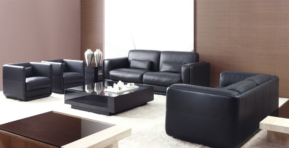 High Quality Genuine Leather Sofa Living Room Sofa Furniture Latest Style In