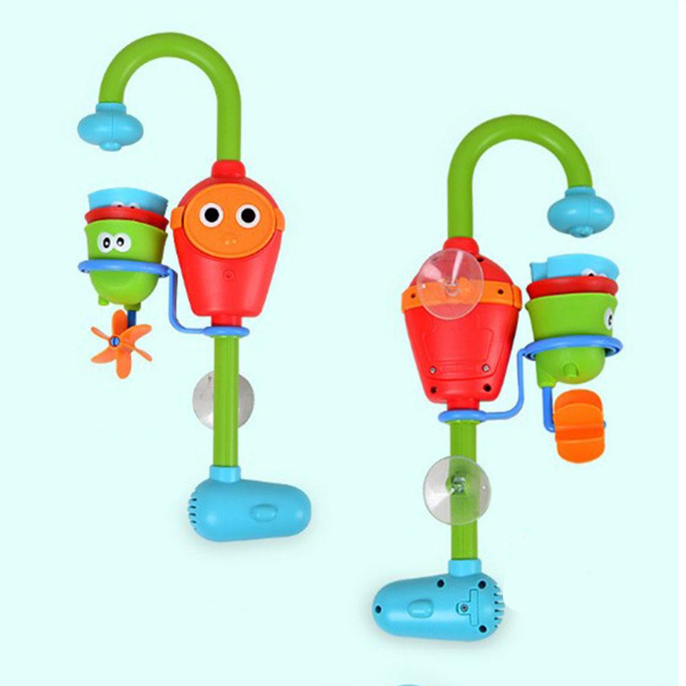 2018 Wholesale Fun Baby Bath Toys Automatic Spout Play Taps ...