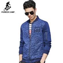 Pioneer Camp 2017 новое поступление мужская куртка весняя и осеняя модель случайная куртка высокое качество известный бренд мужской синий пиджак ...(China (Mainland))