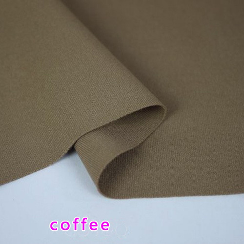 Coffee, stretch spandex Fabric, knitted fabric, stretchy Jersey Fabric, Skirt. Sold by the yard, Free shipping(China (Mainland))