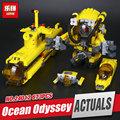 Lepin 24012 Creative The Underwater Explora Ship Set Children Educational Building Blocks Bricks Toys Model 4888