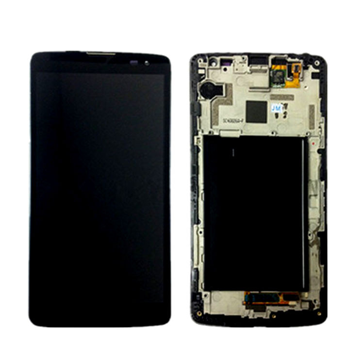 Фотография Black Repair Part Replacement Front Lens Assembly+Frame LCD Screen Touch Digitizer For LG G Vista VS880 D631