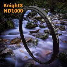 52 58 67  mm Neutral density ND1000 filter Glass FOR  Nikon D3100 D3200 D5200 D7100 18-55mm  Digital Camera Lens 2015 new 102