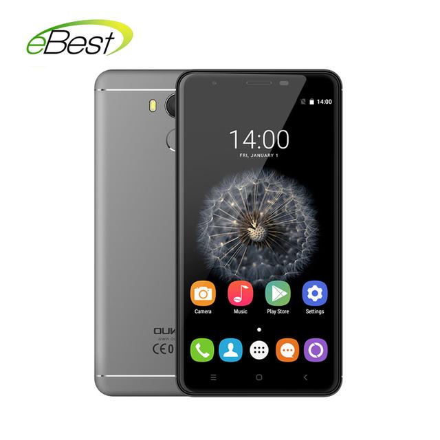 """Оригинал Oukitel U15 Pro Android смартфон 5.5 """"720 P 3 ГБ RAM 32 ГБ ROM MT6753 Окта основные Dual SIM 4 Г lte отпечатков пальцев мобильных телефонов"""