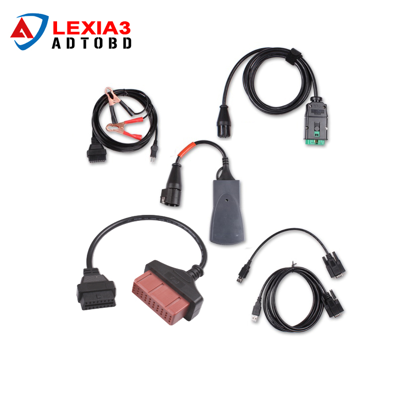 High Quality Diagbox 7.65 Lexia3 PP2000 Lexia 3 For Citroen For Peugeot Diagnostic Tool With Multi-languages Free Shipping(China (Mainland))