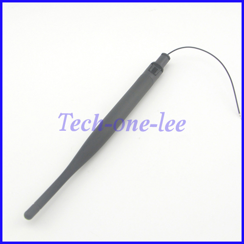 2.4Ghz 5dBi WiFi Wireless Network Router Omnidirectional Antenna With Open Cover Omni 1.13 Cable(China (Mainland))
