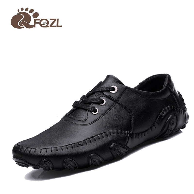 new 2016 shoes casual high top genuine leather shoes