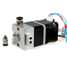 3D printer Bulldog remote/directly extruder compatible with E3D/J-head/MK8 hot end with 42step motor planetary reducer and tube(China (Mainland))