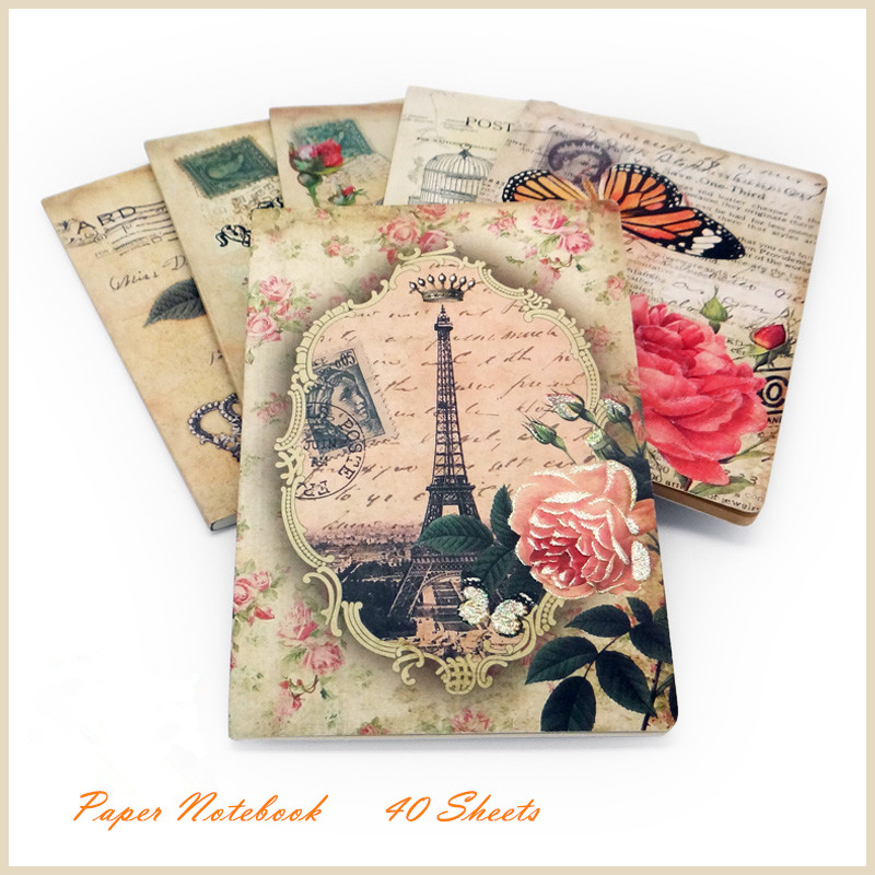 handmade CCID H-032 simple large notebook 6 design  mixed stowage Vintage Notebook<br><br>Aliexpress