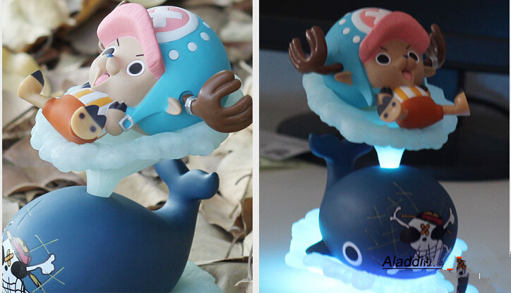 Free Shipping Luminous Anime Tony Chopper Toy Collectible Model ,Funny One Piece Action Figure Toys  Children Christmas Gift <br><br>Aliexpress
