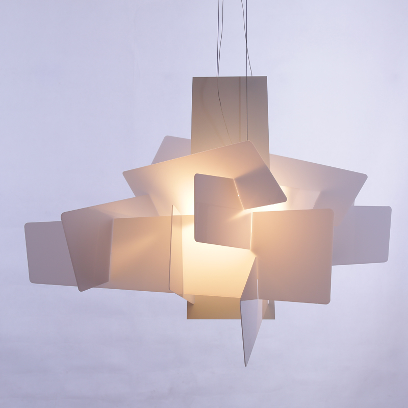 Modern Foscarini Big Bang Pendant Lights White Acrylic ...