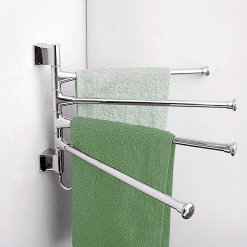 V1NF Stainless Steel Kitchen Bathroom ClothesTowel Rack Holder Hardware Accessory Free Shipping(China (Mainland))