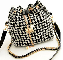 50PCS/lot Canvas Patchwork Shoulder Bag