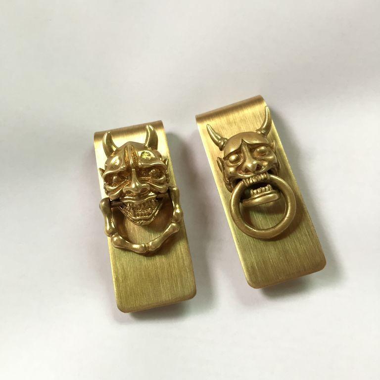 Creative Gifts Geld pures clip sterling slim Japanese Copper horns money clip for money men santoro <br><br>Aliexpress