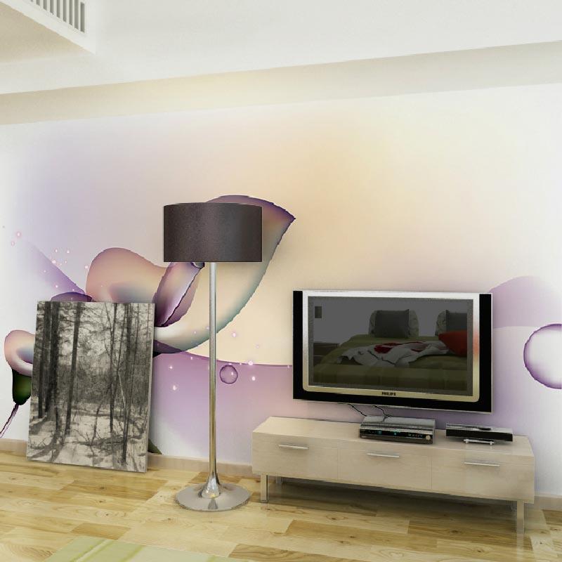 Acheter moderno peintures murales papel de - Papier peint pour salon ...