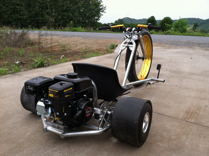 Drift trike с мотором своими руками 717