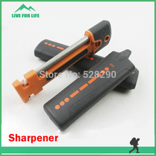 Professional Hiking Camping Portable Pocket Knife Sharpener for Outdoor(China (Mainland))